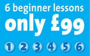 6 beginner lessons for �99
